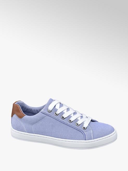 Graceland Leinen Sneaker in Hellblau