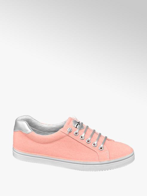 Graceland Leinen Sneaker in Rosa