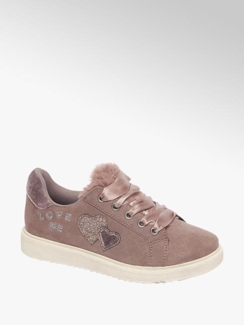 Graceland Lila sneaker vetersluiting