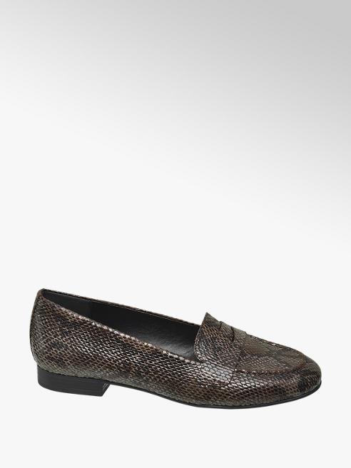 Graceland Loafer in Dunkelbraun
