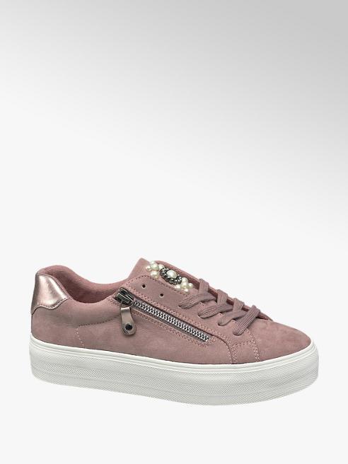 Graceland Plateau Sneaker in Pink