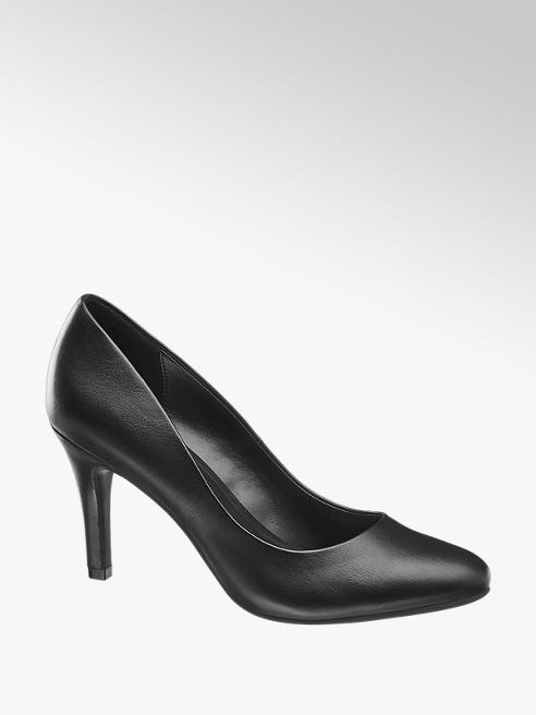 Graceland Pumps in Schwarz
