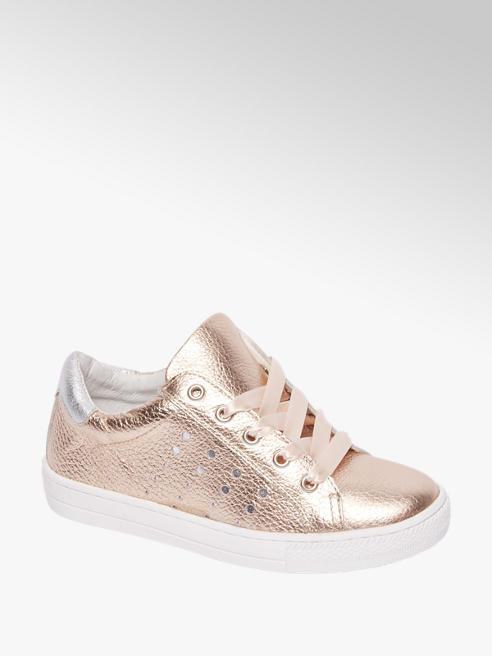 Graceland Rosé leren sneaker
