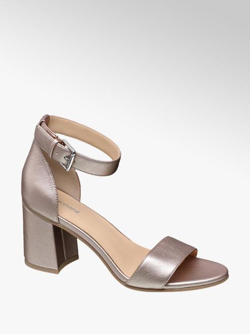 Graceland Rosé sandalette gespsluiting