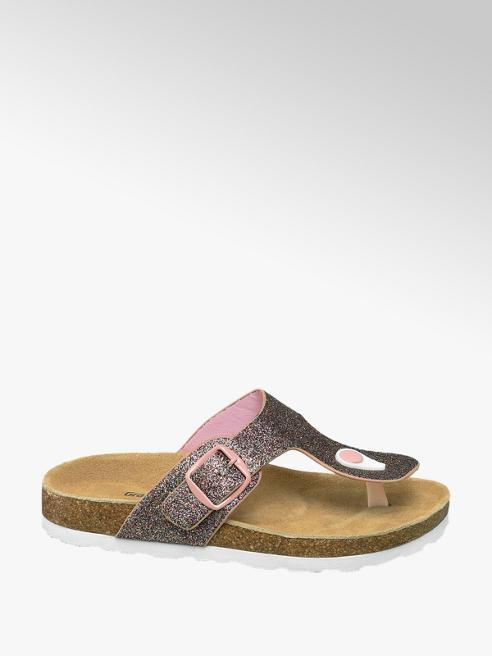 Graceland Roze sandaal met glitters