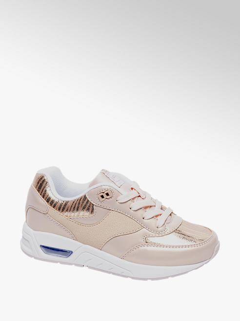 Graceland Roze sneaker gouden details