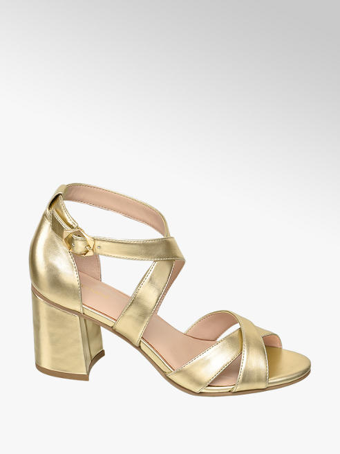Graceland Sandaletten in Gold