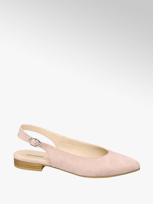 Graceland Sling Ballerinas in Rosa