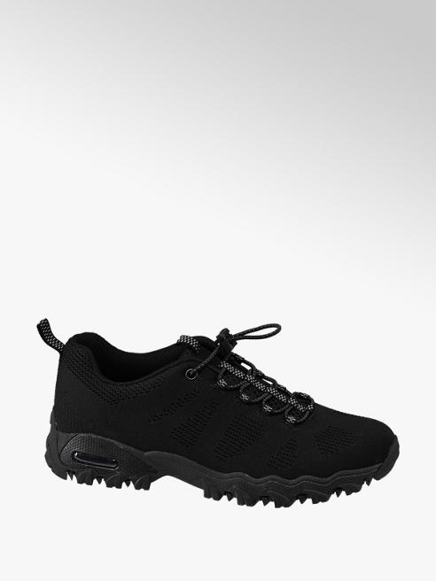 Graceland Slip on Sneaker in Schwarz