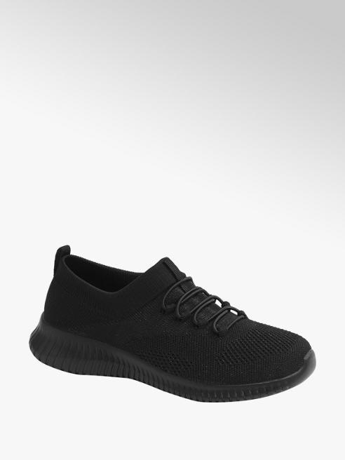 Graceland Sock Sneaker in Schwarz