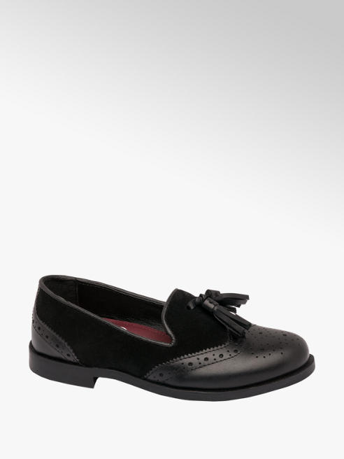 Graceland Teen Girl Leather Tassel Loafers