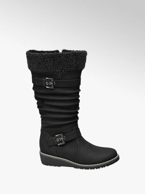 Graceland Teen Girl Long Leg Wedge Boots