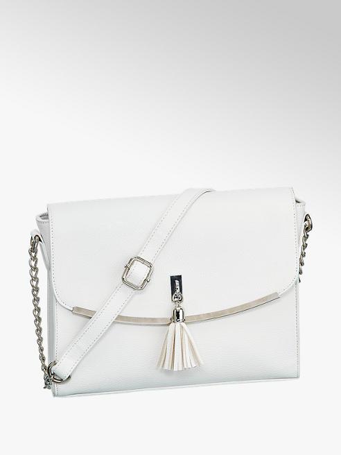 Graceland Umhängetasche in Weiß