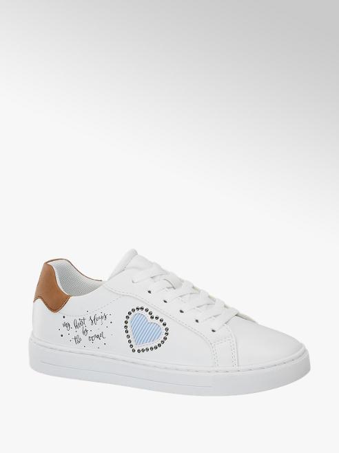 Graceland Witte sneaker tekst