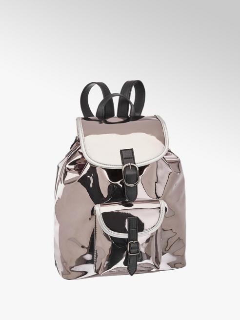 Graceland Zilveren Metallic rugzak