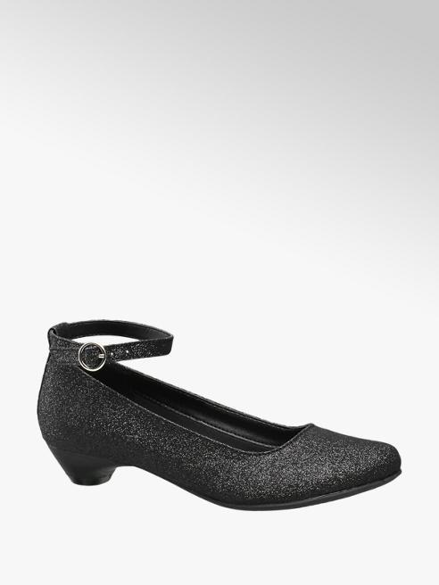 Graceland Zwarte ballerina glitters