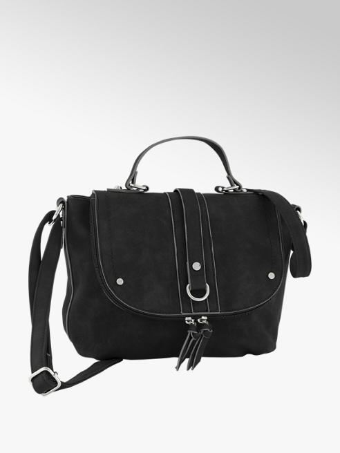 Graceland Zwarte schoudertas klep