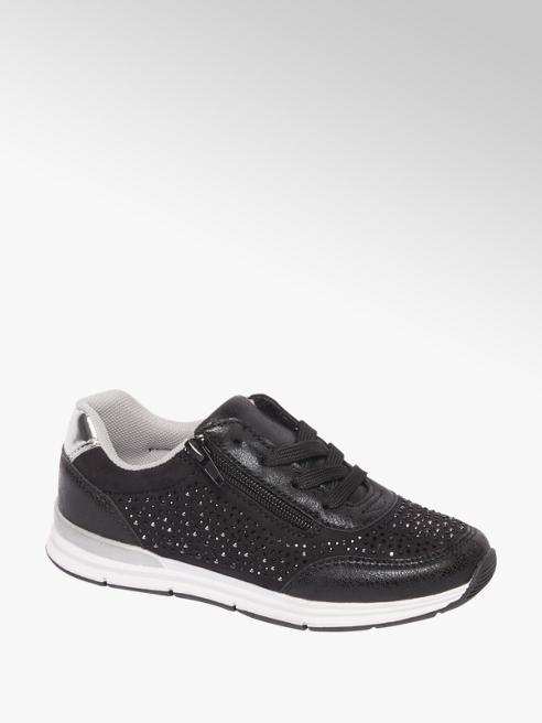 Graceland Zwarte sneaker rits