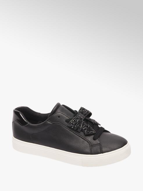 Graceland Zwarte sneaker strik