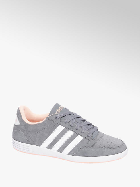 Grijze adidas Hoops VL Low