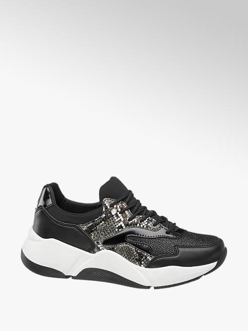 Graceland Hüllőintás női fashion sneaker