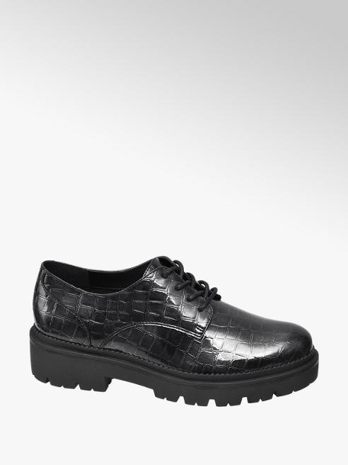 Graceland Hüllőmintás dandy cipő