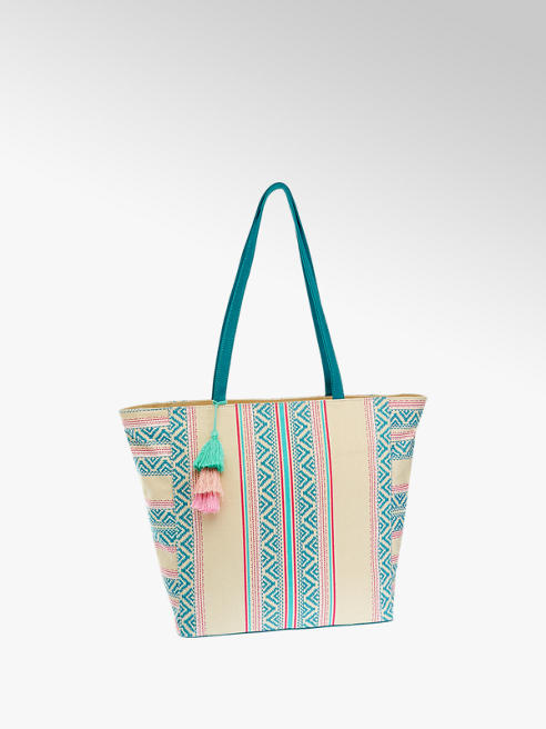 Graceland Hímzett mintás női shopper