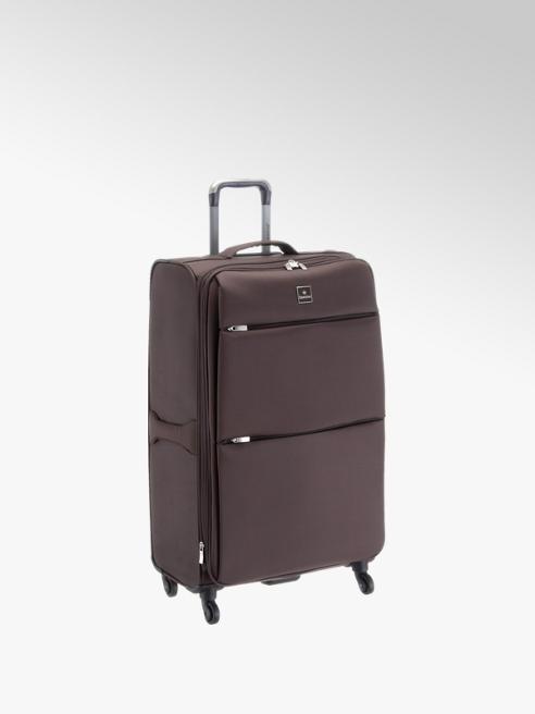 saxoline Hnědý cestovní kufr Saxoline, vel. L