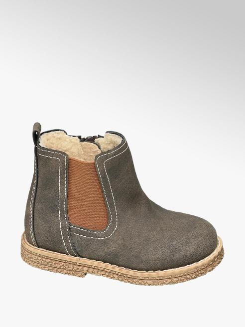 Bobbi-Shoes Hnědá dětská kotníková obuv Bobbi-Shoes se zipem