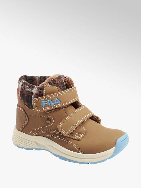 Fila Hnědá kotníková obuv na suchý zip Fila