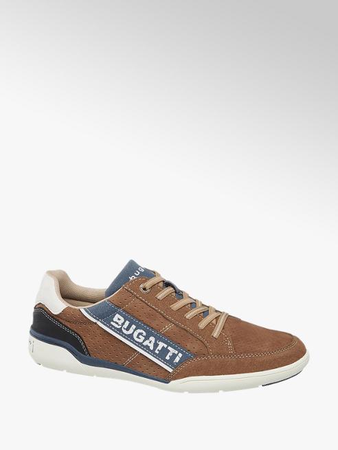 Bugatti Hnědé slip-on tenisky Bugatti