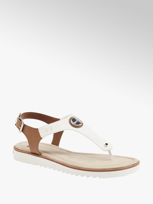 Bench Hnědo-bílé sandály Bench