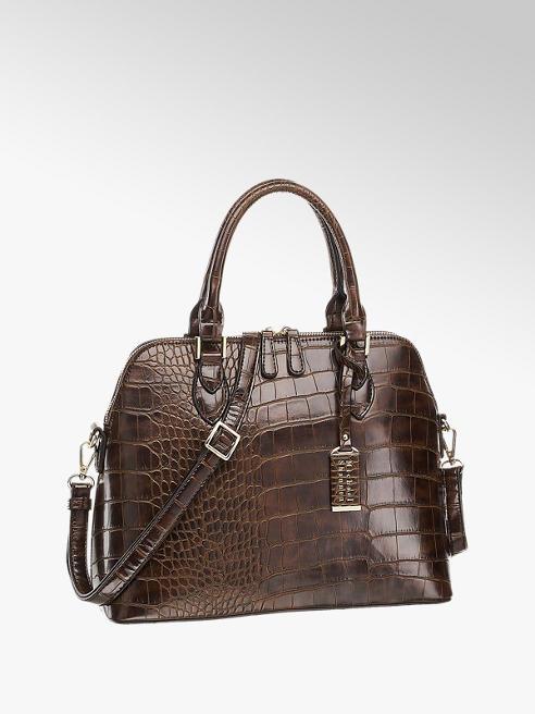 Michael Shannon Hnedá kabelka so zvieracím vzorom Michael Shannon