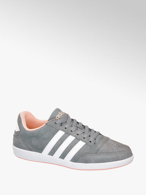 Adidas Hoops Low Lædersneaker