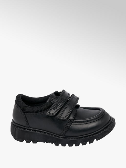 Hush Puppies Toddler Boy Hush Puppies Leather Twin Strap School Shoes - Dual Fit