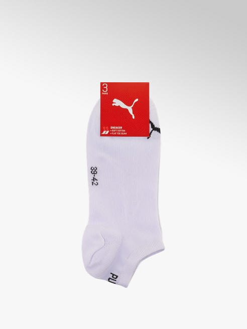 Puma Invisible Damen Sneaker Socken 3 pack 35-38