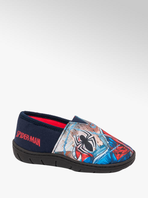 Junior Boy Spiderman Slippers