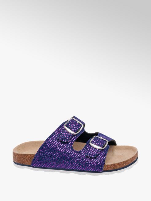 Graceland Junior Girl Sparkley Footbed Sandals
