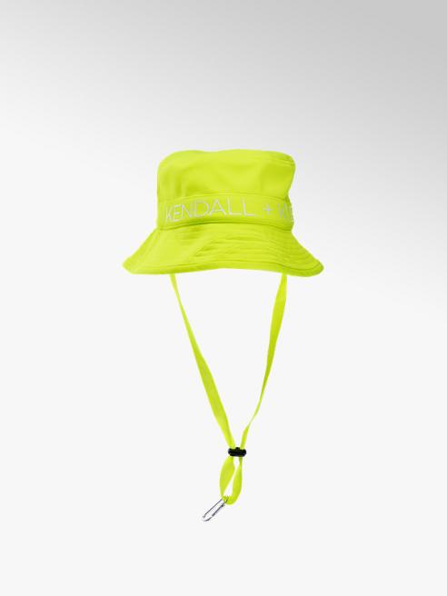 Kendall + Kylie Hut in Neon Gelb