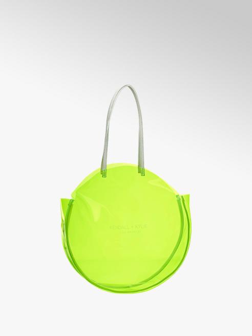 Kendall + Kylie Shopper in Neon Gelb