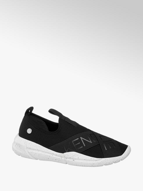 Kendall + Kylie Slip on Sneaker in Schwarz