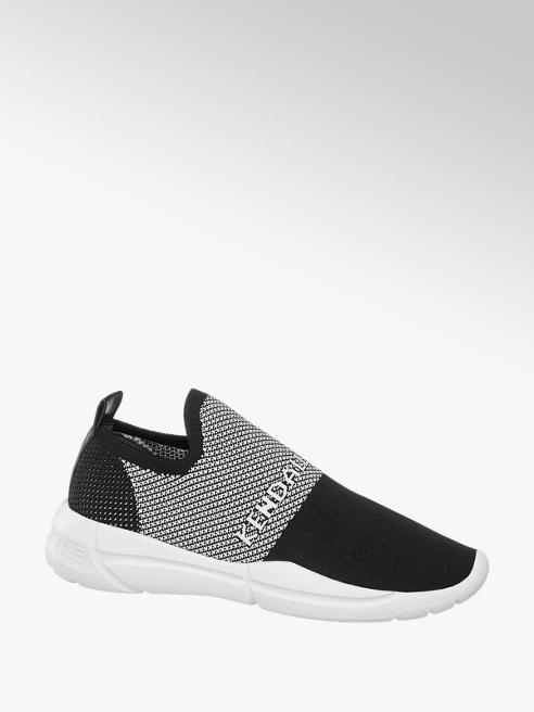Kendall + Kylie Sock Sneaker in Schwarz