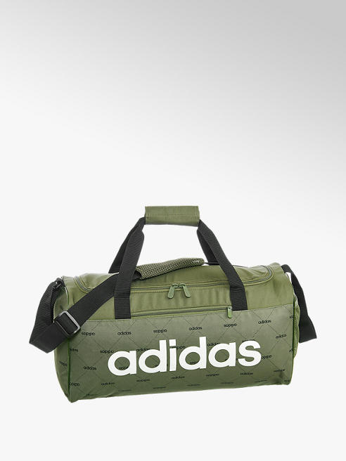 adidas Khaki sportovní taška Adidas Lin Duf SG