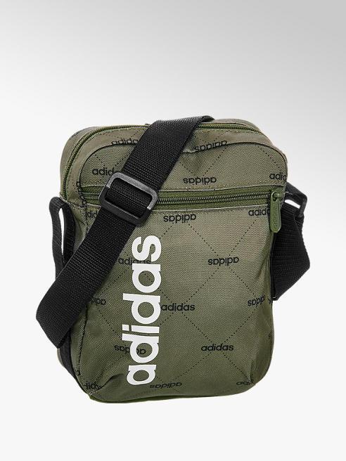 adidas Khaki taška přes rameno Adidas Lin Org G