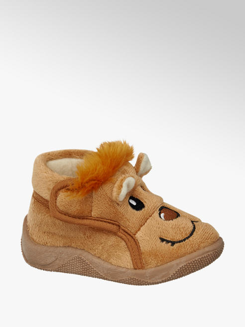 Bobbi-Shoes Lion Bootee Slipper