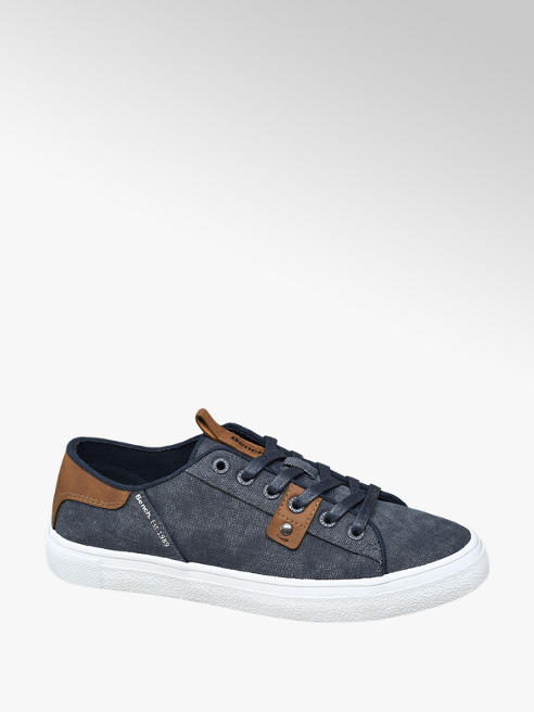 Bench Kék kamasz vászoncipő