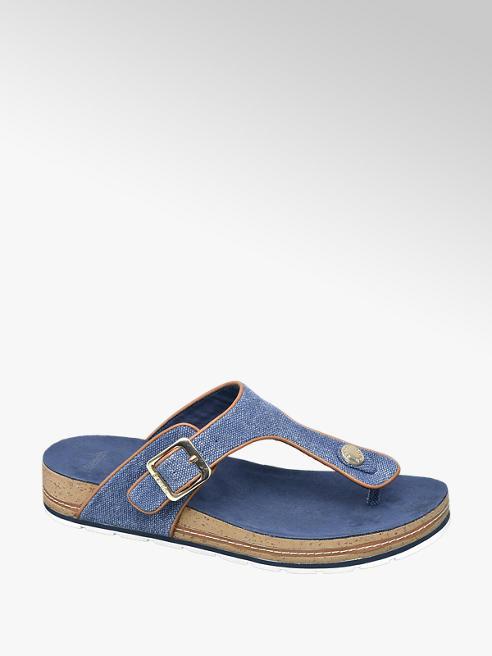 Bench Kék lábujjközi női papucs