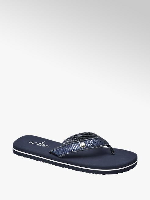 Blue Fin Kék strandpapucs