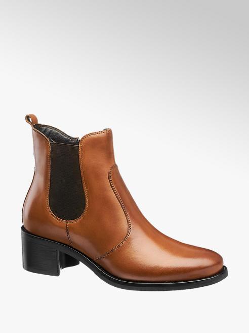 5th Avenue Koňaková kožená obuv chelsea 5th Avenue