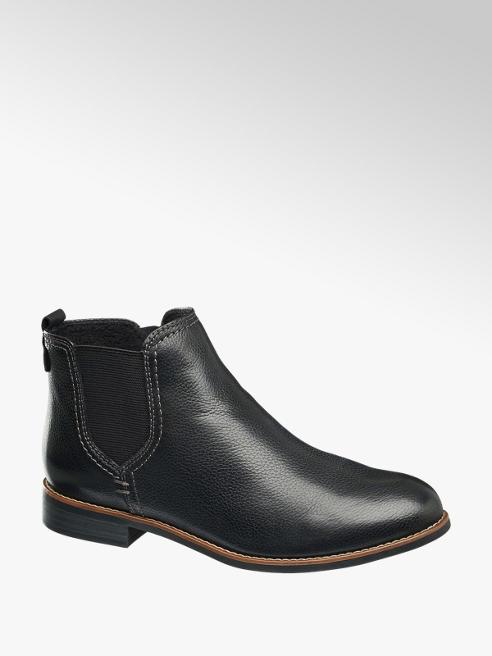 5th Avenue Kožená kotníková obuv Chelsea 5th Avenue černá